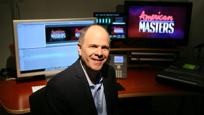 """Michael Kantor is the new executive producer of â??American Masters"""" on PBS.  Mark Vergari/The Journal News Michael Kantor from Scarsdale, is the new executive producer of PBS's American Masters' series.  Here he is pictured in an editing room at the WNET studios in New York, May 7, 2014."""