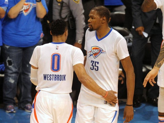 Russell westbrook kevin durant fashion