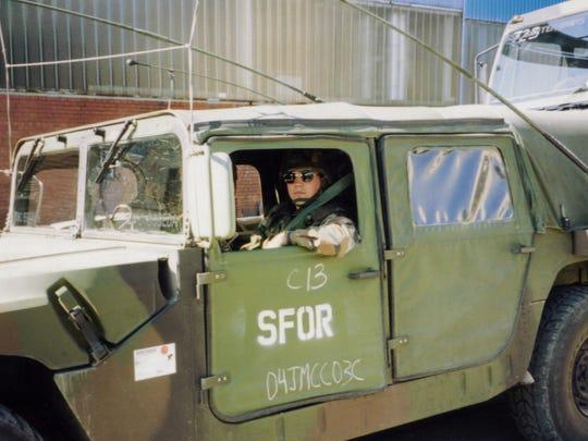 Todd Bobeda was stationed in Bosnia-Herzegovina in 1997.