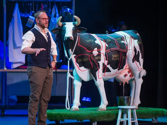 """""""Alton Brown Live! The Edible Inevitable Tour"""" is made with the ingredients that made the """"Good Eats"""" television show a success, including a dose of culinary facts delivered with props and sprinkled with humor."""