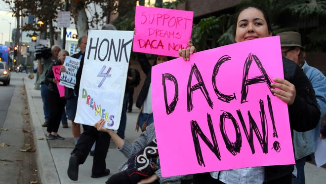 The DACA program is set to expire March 5, unless Congress acts.