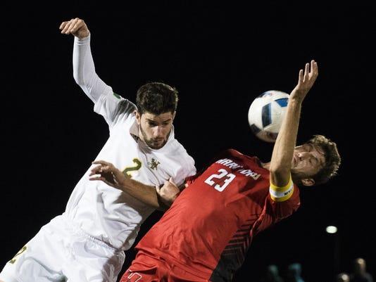 Hartford vs. Vermont Men's Soccer 10/15/16