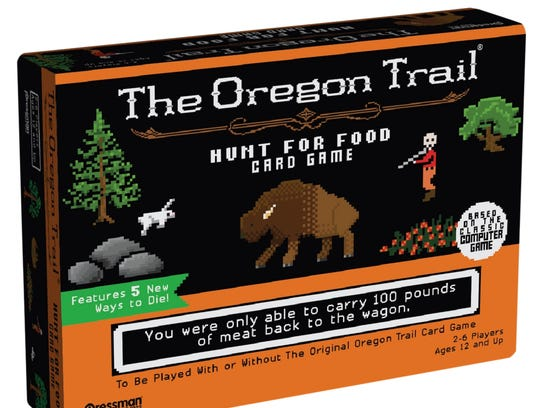 The board game Oregon Trail.
