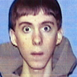 FILE - This undated file photo circulated by law enforcement and provided by NBC News, shows Adam Lanza, who authorities said Lanza killed his mother at their home and then opened fire inside the Sandy Hook Elementary School in Newtown, Conn., on Friday, Dec. 14, 2012.  Search warrants released Thursday, March 28, 2013, revealed that an arsenal of weapons including guns, more than a thousand rounds of ammunition, a bayonet and several swords was seized in the Lanza home.