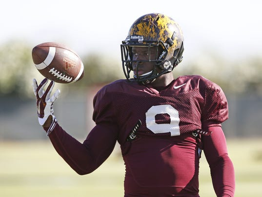 ASU sophomore RB Kalen Ballage not playing against Texas A&M