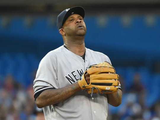 Yankees pitcher CC Sabathia can breathe a sight of