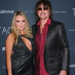 Nikki Lund (L) and Richie Sambora attend the TAGS Two year anniversary party on November 6, 2014 in West Hollywood,