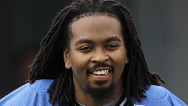 Detroit Lions offensive tackle LaAdrian Waddle.