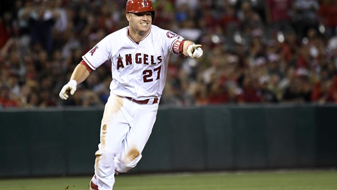 Millville native Mike Trout is putting together another run for the American League Most Valuable Player award this season.