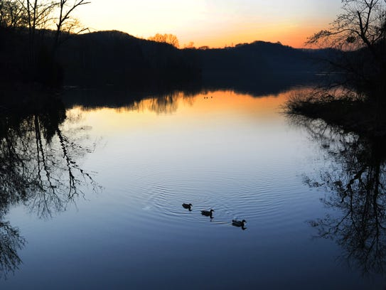 Radnor Lake State Natural Area, with 1,200 acres, is