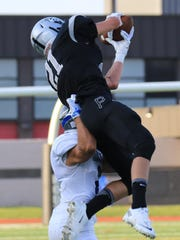 Intercepting an Eisenhower pass early in Friday's opener