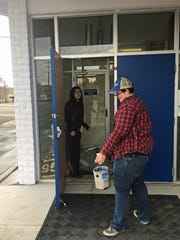 The LGBT teen group at Identity Inc. completed a community service project on Monday, Martin Luther King Jr. Day, at San Juan United Way in Farmington. Teens discussed the improtance of King's legacy and helped United Way staff organize donations and paint the interior of their office.