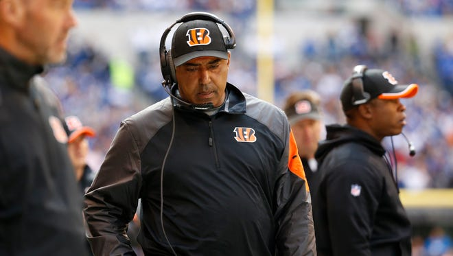Bengals head coach Marvin Lewis