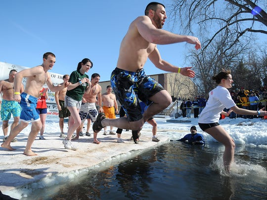 This year's Green Bay Polar Plunge is on Feb. 28.
