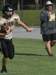 After building a successful football program at West Florida High School in Escambia County, Coach Harry Lees, is looking at bringing a new winning spirit to Milton High in Santa Rosa County.