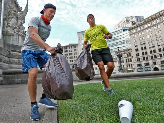 "The November Project and Keep Indianapolis Beautiful have come together to host the ""Summer of Plogging Series."""