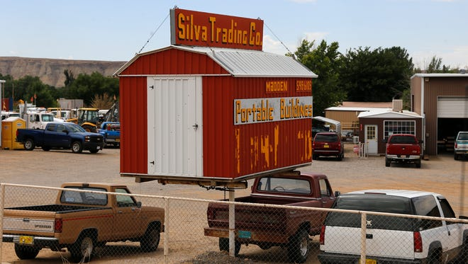 The Silva Trading Co. property as seen on Tuesday in Kirtland.