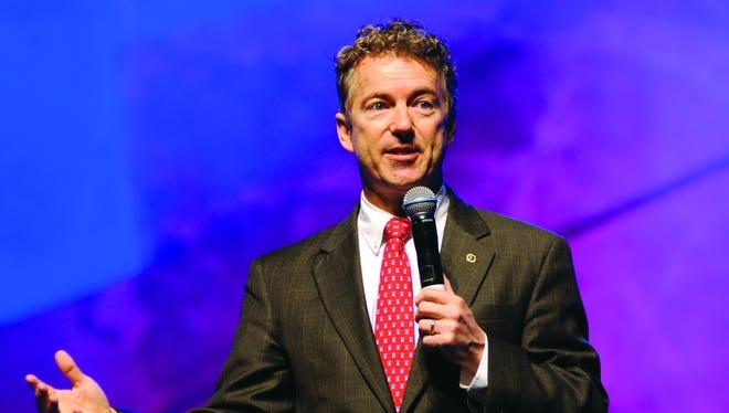 Sen. Rand Paul of Kentucky.