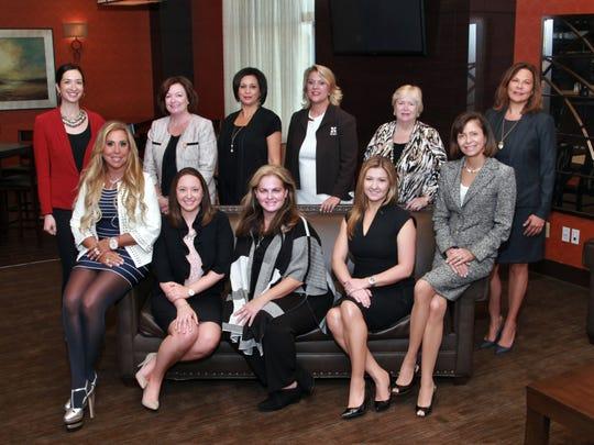 Back row, from left: Nicole Ghafari, Catherine Koch,