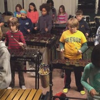 Louisville Leopard Percussionists perform Zepplin!