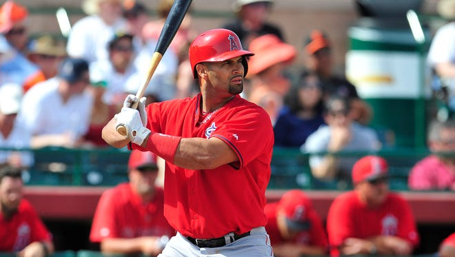 Albert Pujols entered the week eight homers shy of becoming the 26th player with 500 career homers.