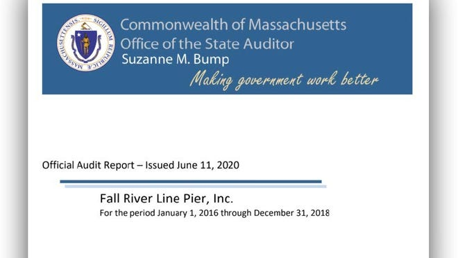 An audit conducted by the office of State Auditor Suzanne M. Bump found conflicts of interest among board members at the Fall River Line Pier and the operations there lacked financial oversight.