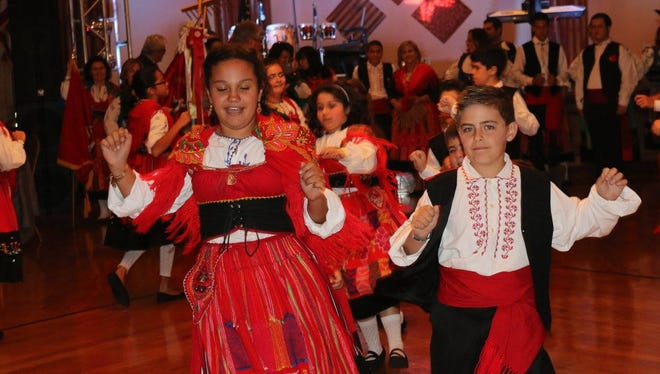 Youth dancers at the Portuguese-American Community Center's 85th anniversary party on Oct. 3, 2015 in Yonkers.