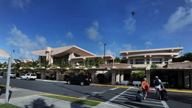 A view of A.B. Won Pat International Airport Guam.