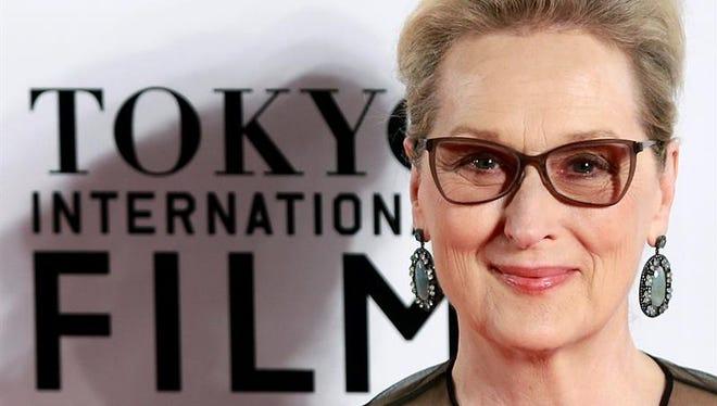 En la imagen, la actriz estadounidense Meryl Streep.