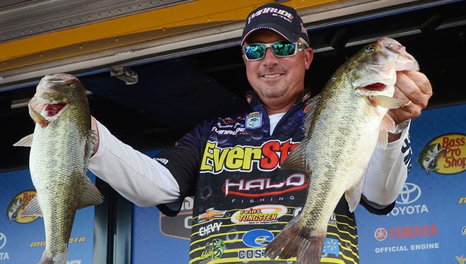 Randall Tharp won the B.A.S.S. Central Open 3 at Ross Barnett in 2013 - an event that is scheduled to return in March.
