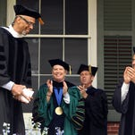 Drew University's 148th annual commencement ceremonies. May 14, 2016. Madison, N.J.