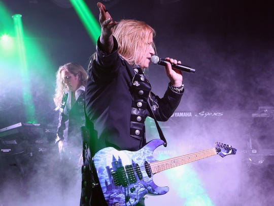 Chris Caffery will perform with Trans-Siberian Orchestra Dec. 7 at Bankers Life Fieldhouse.
