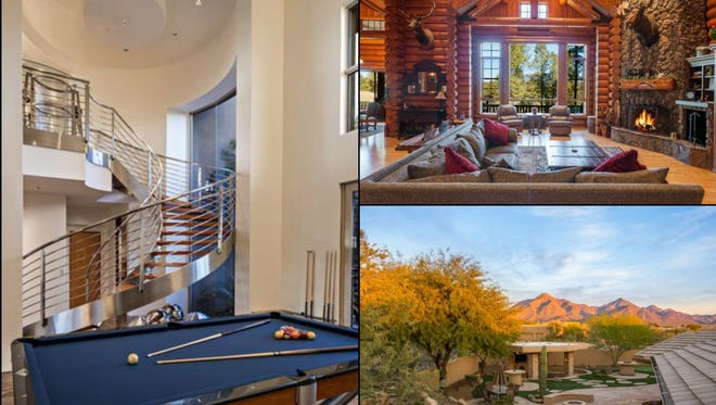 Houses either currently or formerly owned by three longtime Major Leaguers and a current Arizona Diamondbacks executive are on the market in the Phoenix-area.