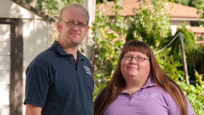Joey and Holly Baird are hosts of a new radio show about vegetable gardening in Wisconsin.