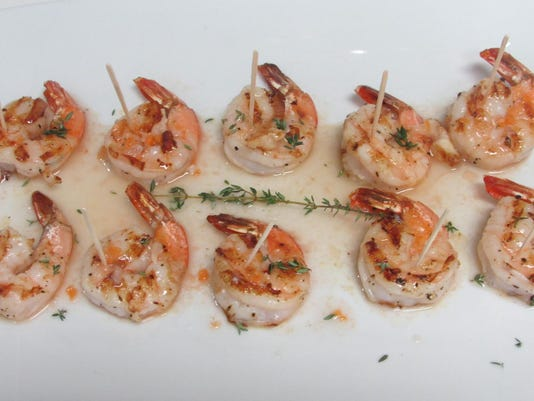 Grilled Shrimp with Habanero