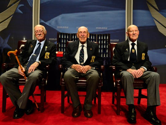 Three of the then-four Doolittle Raiders shared their