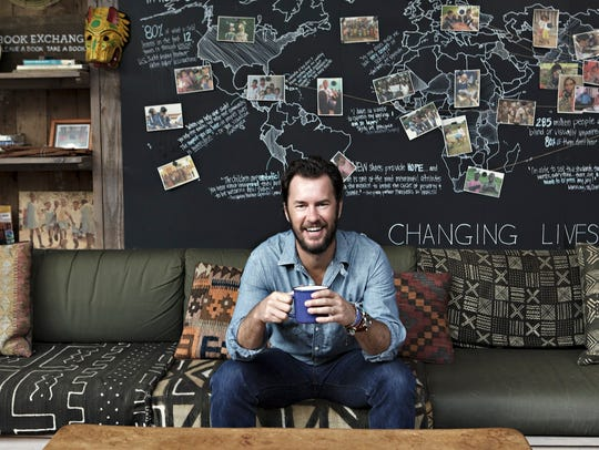 Toms founder Blake Mycoskie hopes to give away 1 million