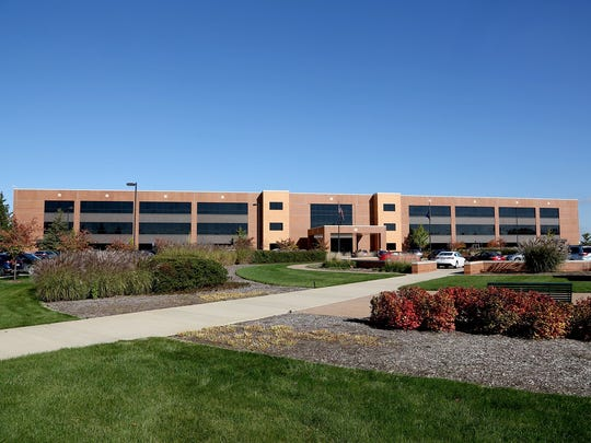 The exterior view of the Toyota Technical Center in York Township, Mich., on Oct. 23, 2014.