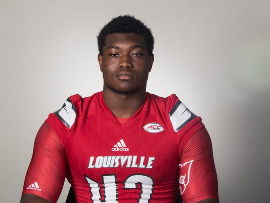 Louisville Football Headshots - Jersey