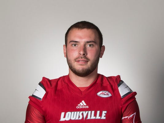 Louisville Football Headshots - Jersey