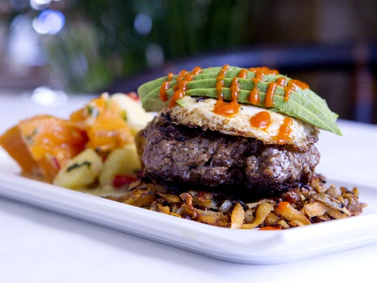 The Bison, The Duck and The Egg at Cavé, A Paleo Eatery