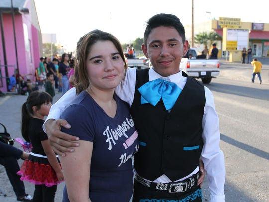 Stephanie Rodriguez and Leonardo Morales.