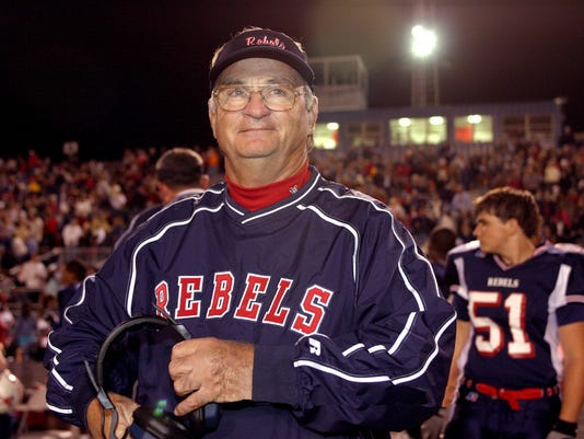 West Monroe football coach Don Shows