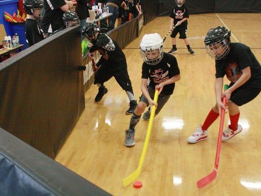 Full Blast floor hockey