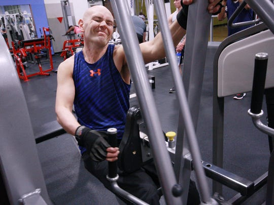 Scott Truran has found that the right side of his body has grown weaker than the left side of his body since he became diagnosed with MS.