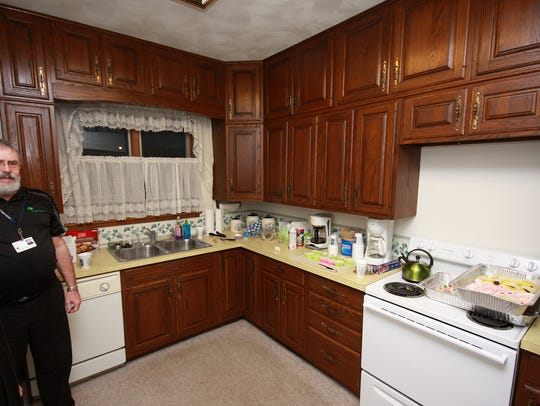 The original kitchen in the home will be utilized by
