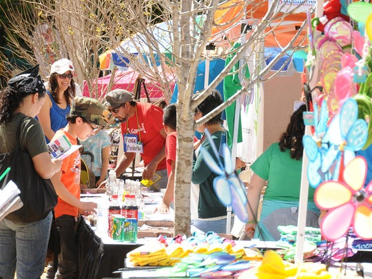 There will be plenty of arts and crafts booths at this year's Downtown KidsPalooza on Saturday.