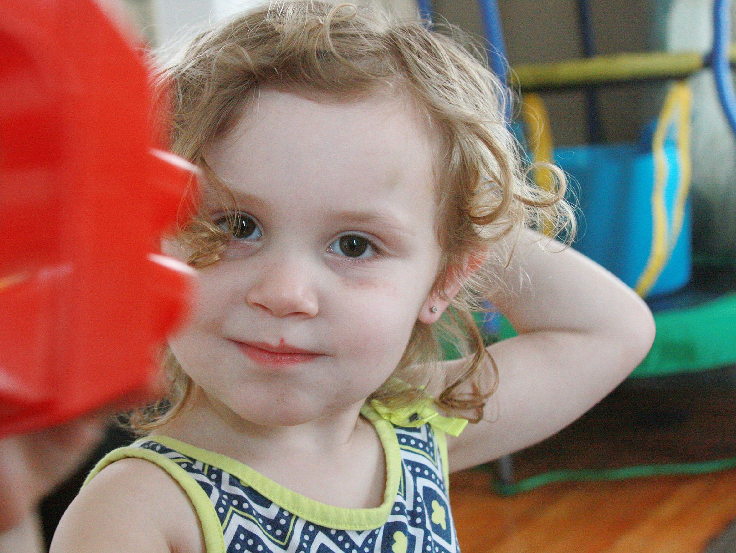 Last week, 2-year-old Alexsis Bryant was again tested