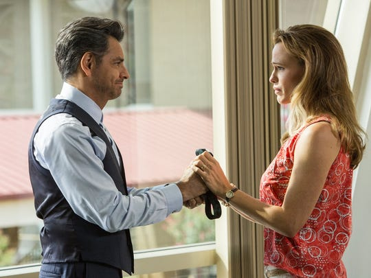 "Mexican superstar Eugenio Derbez plays a doctor who treats the daughter of Christy (Jennifer Garner) in the inspirational drama ""Miracles from Heaven."""