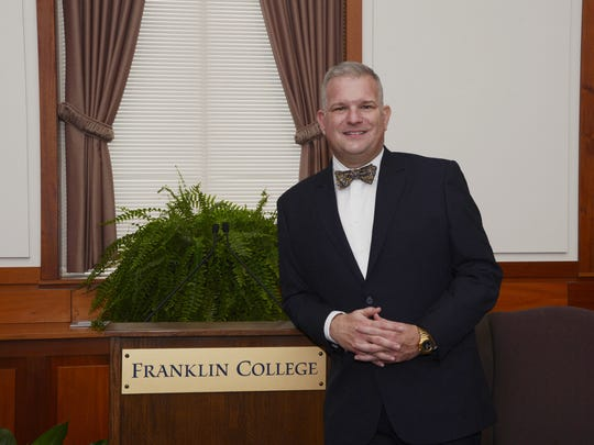 Franklin College President Tom Minar.